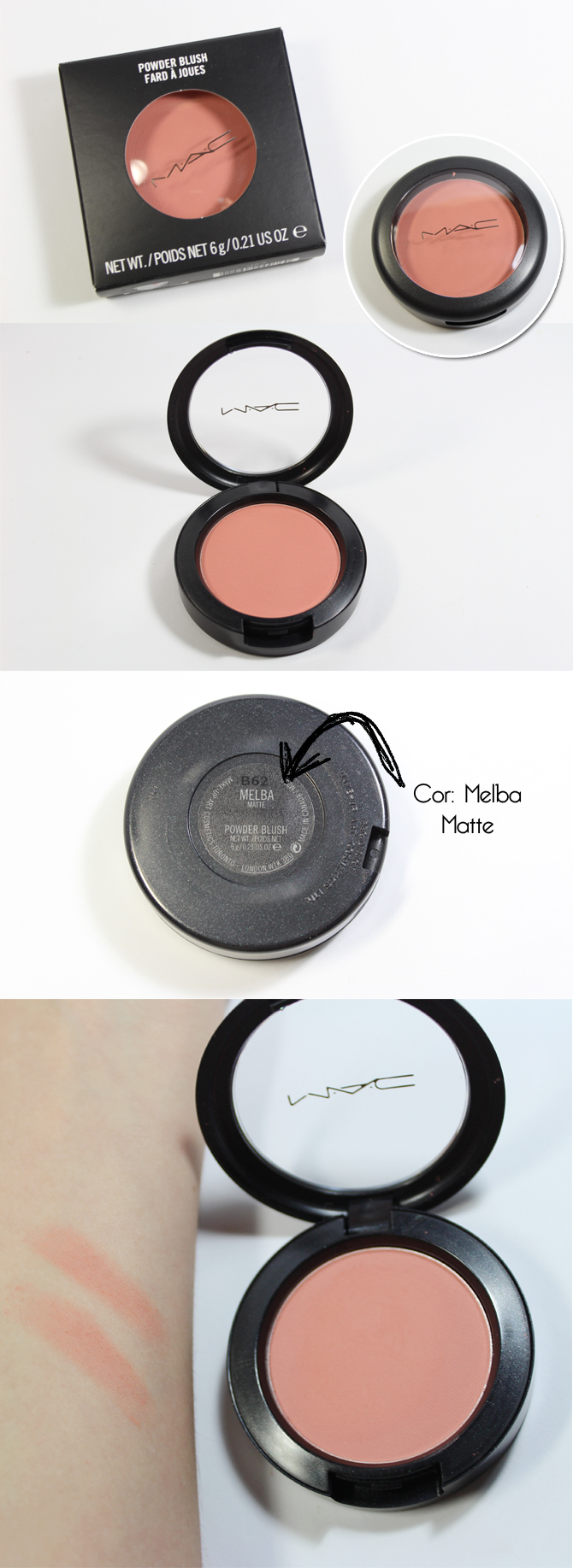 blush melba MAC copy