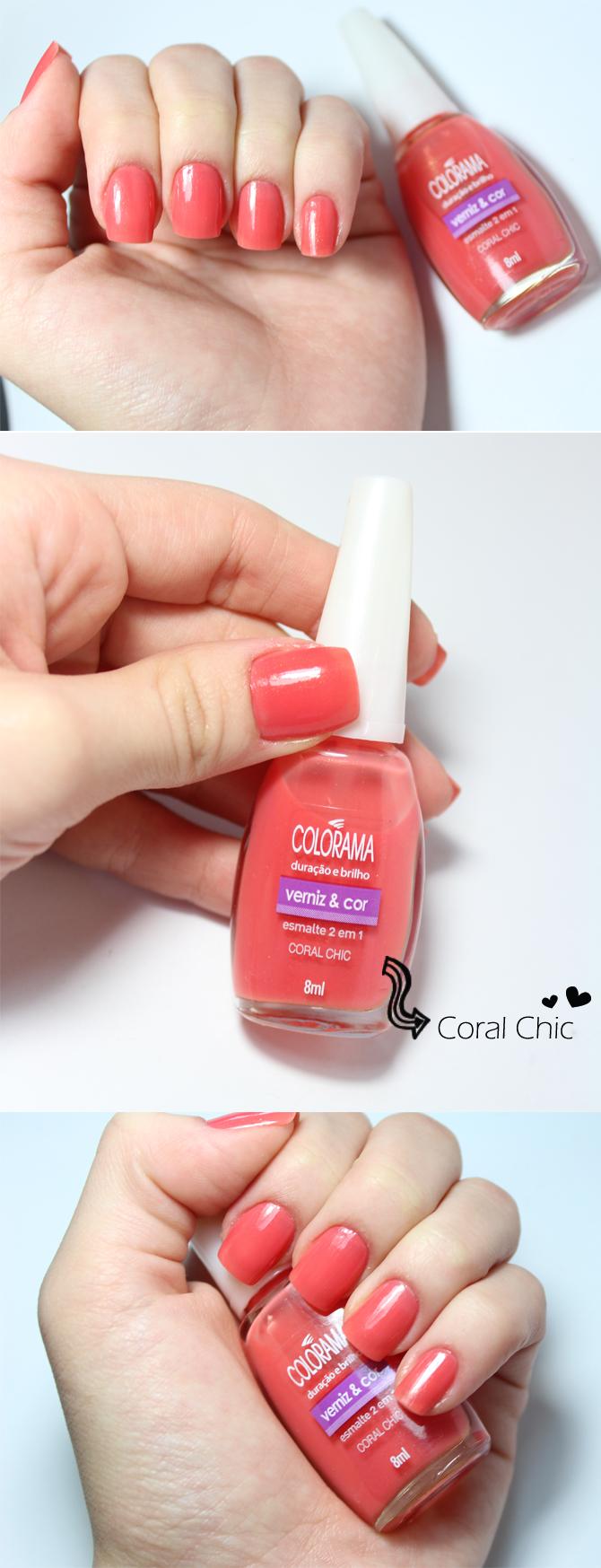 coral chic colorama