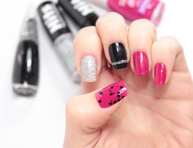 2- esmalte da semana nail art