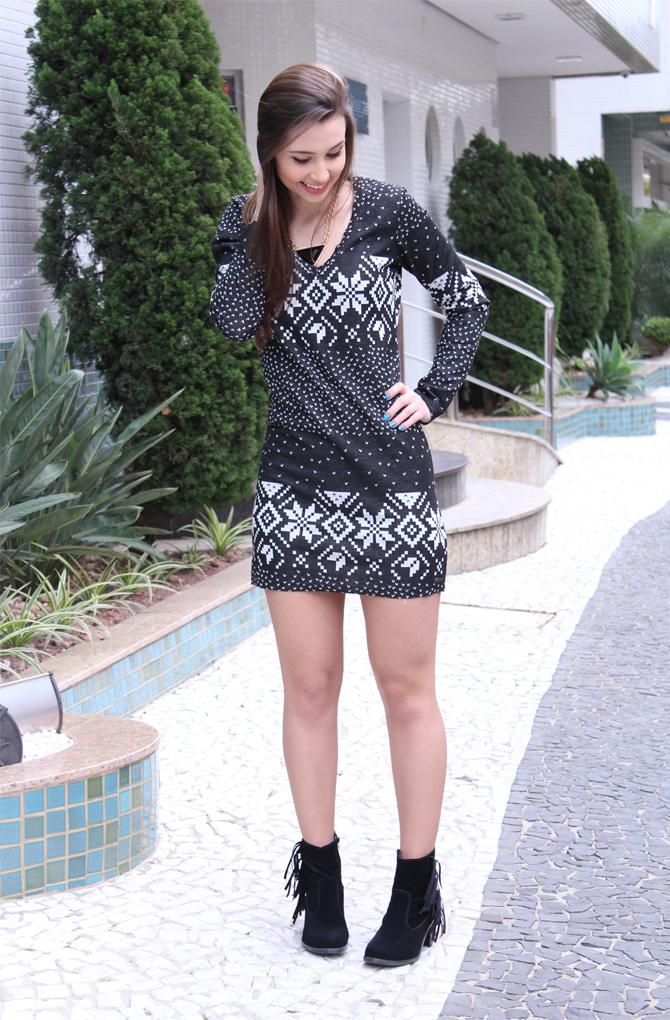 2- look doa dia vestido inverno