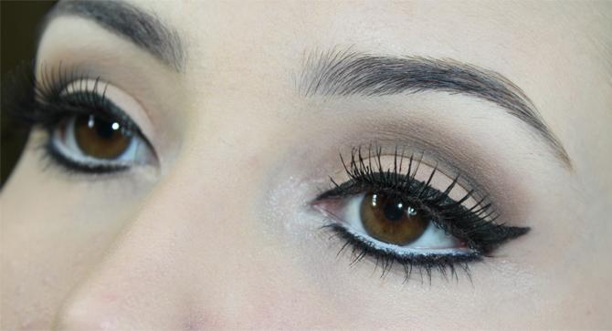 2- maquiagem neutra e marcante