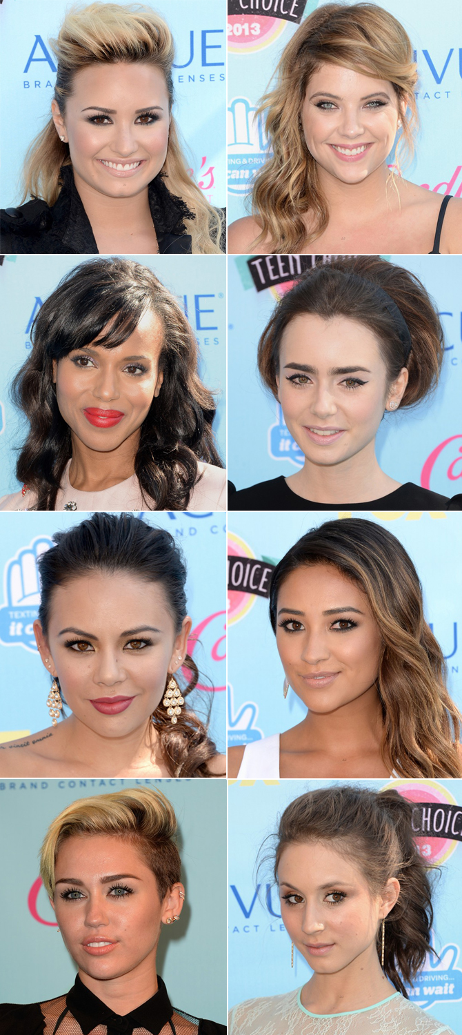 make-up Teen Choice Awards 2013 copy