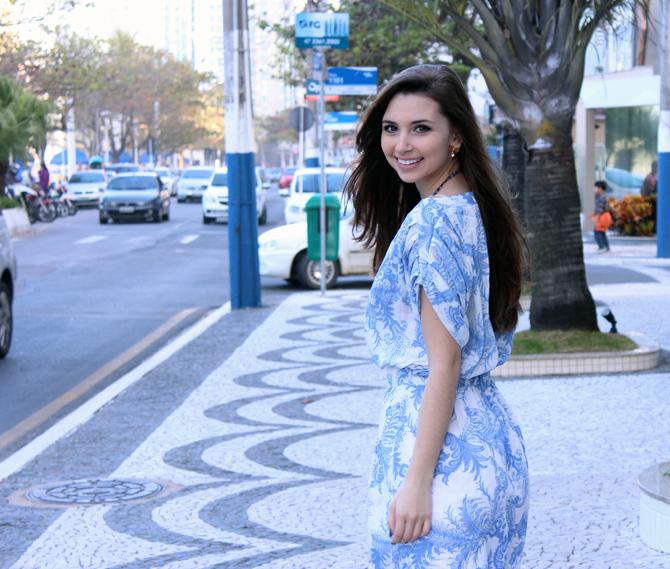 10- vestido azulejo português