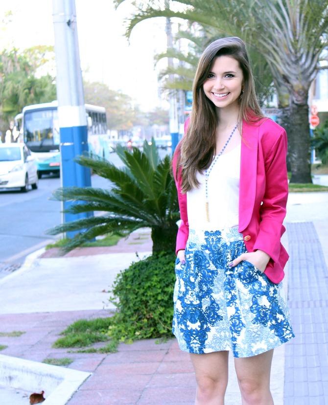 3- saia azulejo português e blazer pink