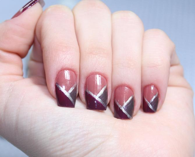 7- esmalte da semana risque nail art