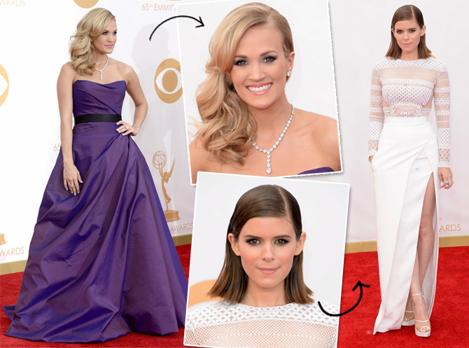 Carrie Underwood e Kate Mara Emmys 2013