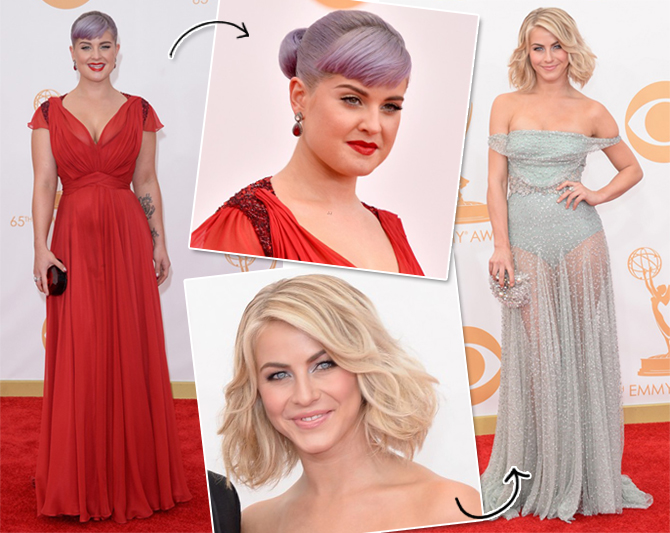 Kelly Osbourne e Julianne Hough Emmys 2013