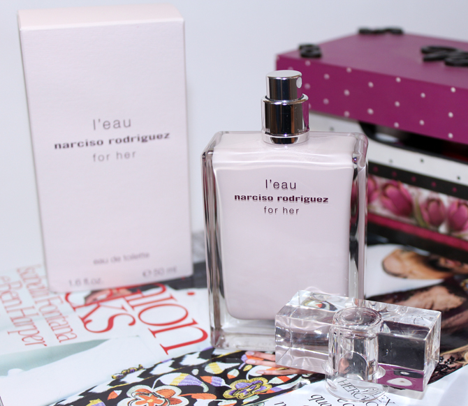 3- l'eau Narciso Rodriguez for her