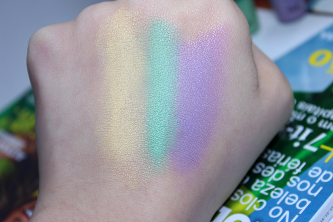 4- corretivos coloridos Yes Cosmetics