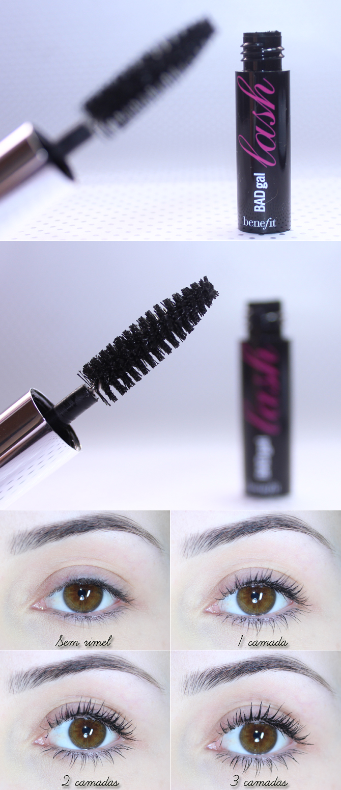 7- Rímel Bad Gal Lash Benefit