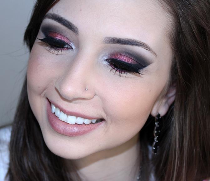1- tutorial de maquiagem com pigmentos
