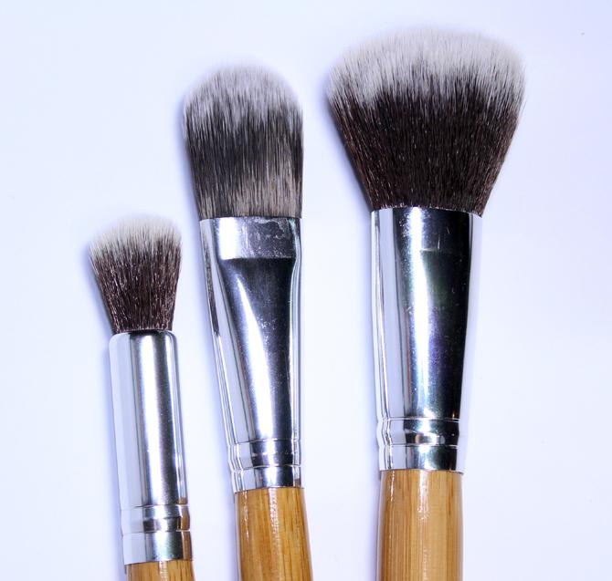 10- pinceis face hd Make-up e Cia