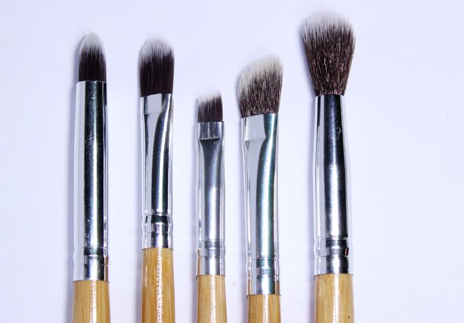 11- pinceis face hd Make-up e Cia