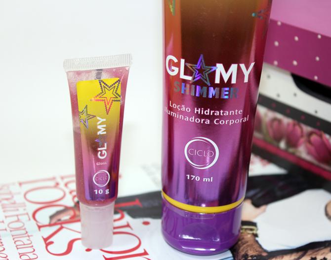3- Glamy Shimmer Ciclo Cosméticos