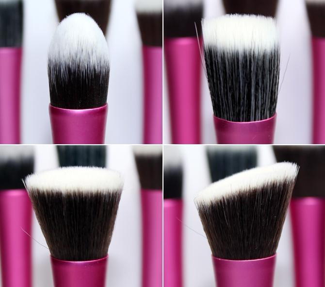 7- pinceis face rosa Make-up e Cia