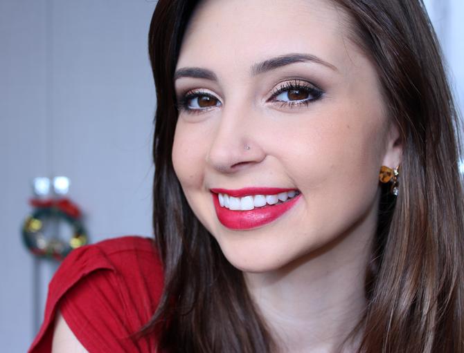 10- maquiagem para usar no Natal