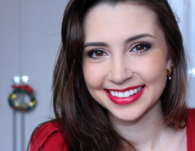 13- maquiagem para usar no Natal