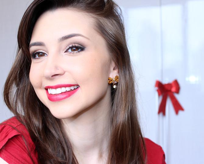 8- maquiagem para usar no Natal