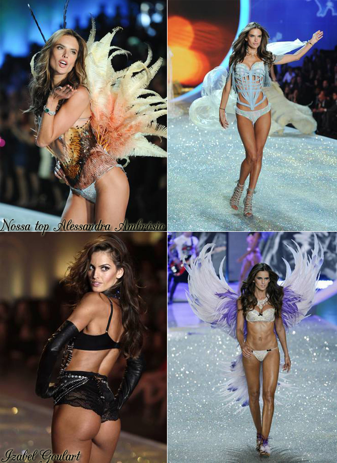 Alessandra Ambrósio e Izabel Goulart- Victoria's Secret Fashion Show copy
