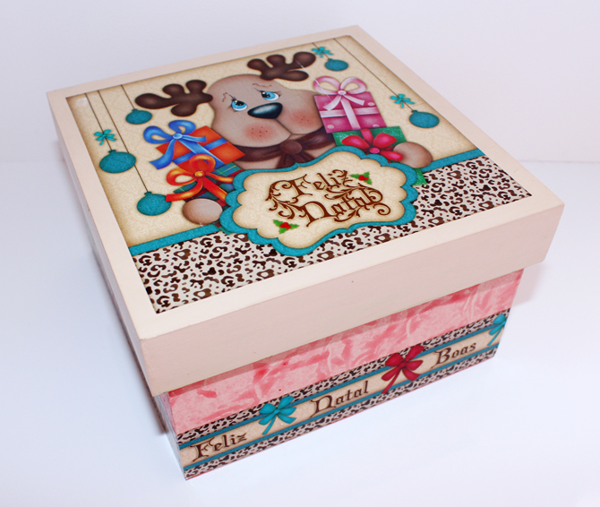 caixa personalizada natal malhadinho