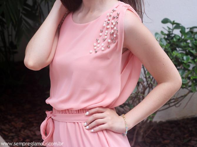 9- vestido romantico com perolas