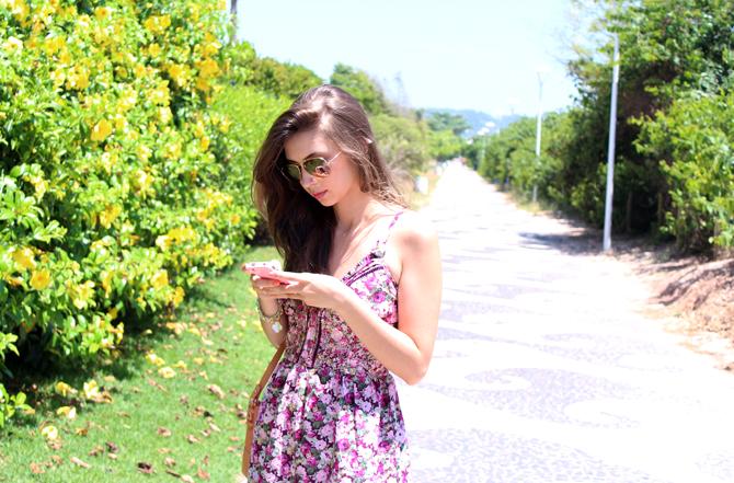 1- look do dia vestido florido jurere internacional sempre glamour
