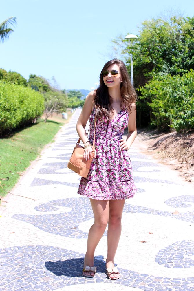 3- look do dia vestido florido jurere internacional sempre glamour