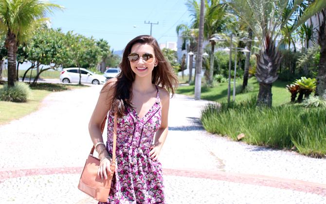 7- look do dia vestido florido jurere internacional sempre glamour