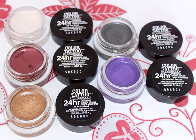 3- sombras color tattoo maybelline
