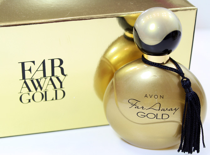 01 - perfume far away gold avon