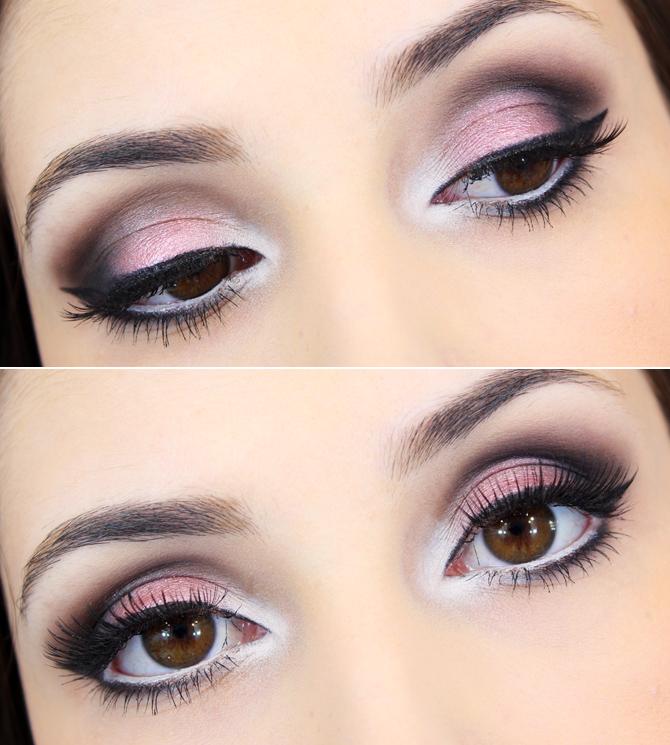 02 - tutorial de maquiagem com sombra rosa beata tracta