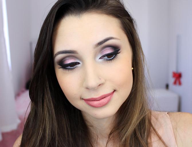 05 - tutorial de maquiagem com sombra rosa beata tracta