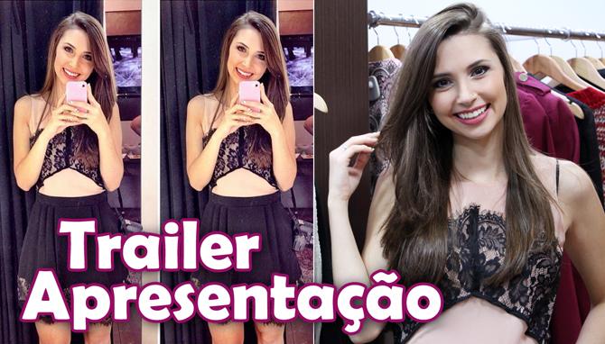 trailer de apresentação blog e canal Sempre Glamour