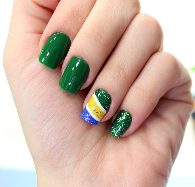 03 - unhas brasil copa do mundo 2014 blog sempre glamour