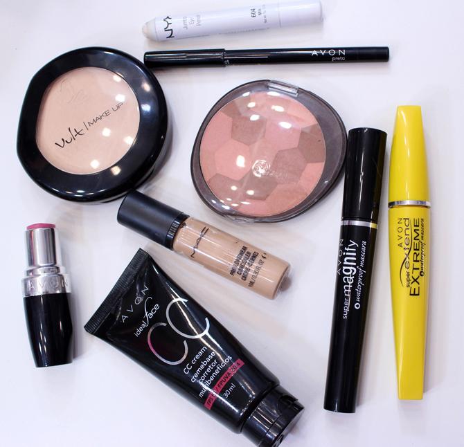 04 - produtos usados na maquiagem que eu uso no dia a dia sempre glamour