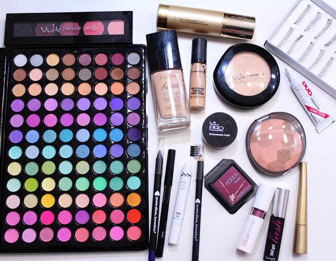 05- maquiagem para festa junina e julina sempre glamour produtos usados