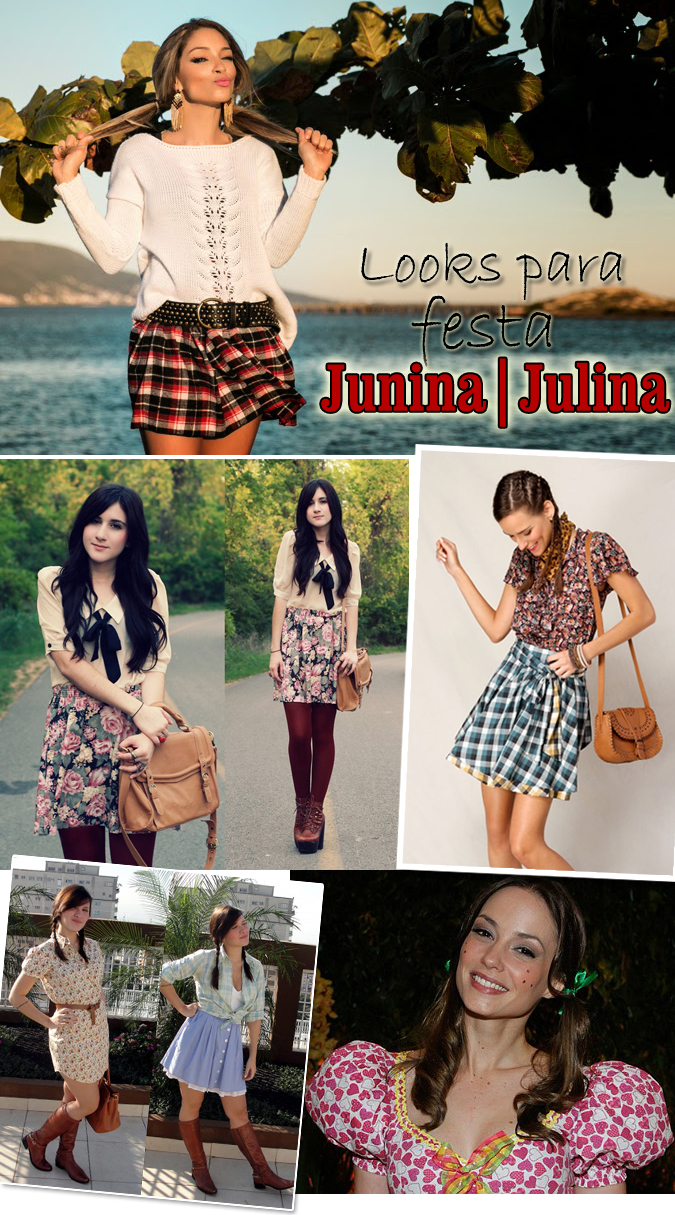 Looks para festa junina e julina copy