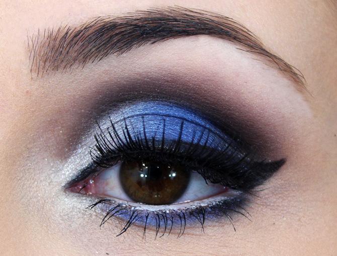 02 - maquiagem azul com prata sempre glamour