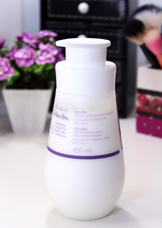 03 - natura todo dia desodorante hidratante corporal algodão