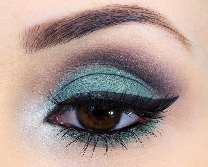 05 maquiagem com sombra verde