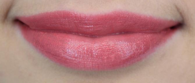 07 - Resenha batons color precise avon cor rosa real