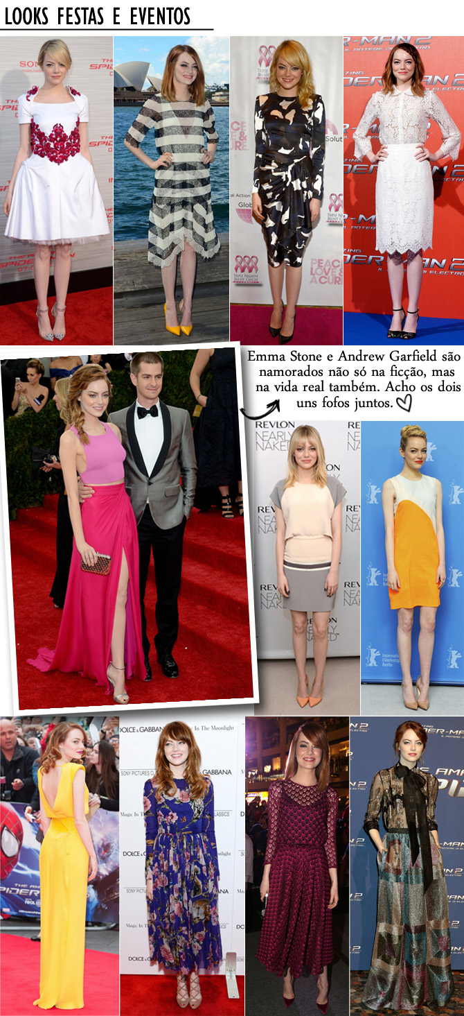 looks festas e eventos emma stone copy