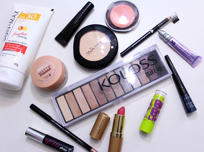 06 - produtos usados maquiagem dia delineador azul