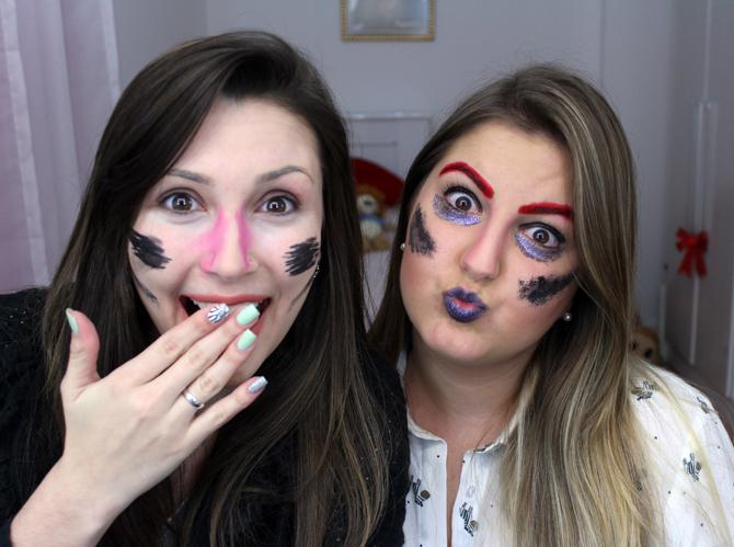 2 - maquiagem surpresa jana e lari