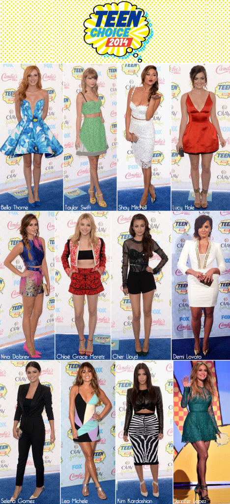 Looks Teen Choice Awards 2014
