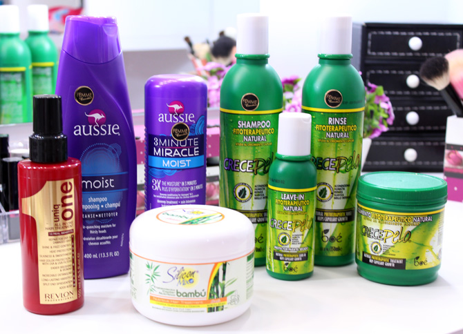 02 - produtos para o cabelo femme cosmeticos