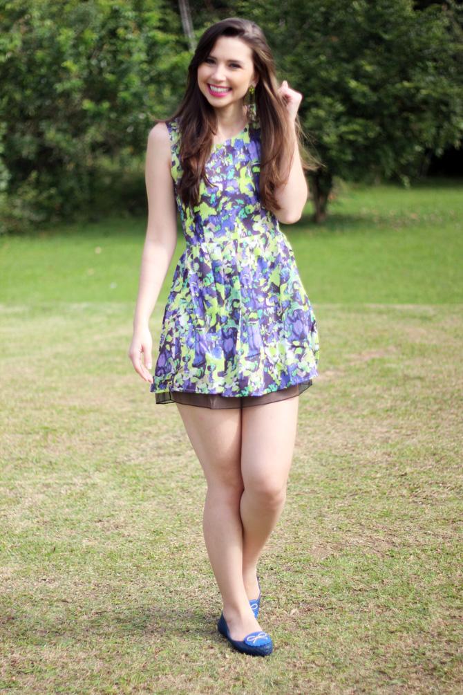 02 - vestido colorido azul e verde sempre glamour