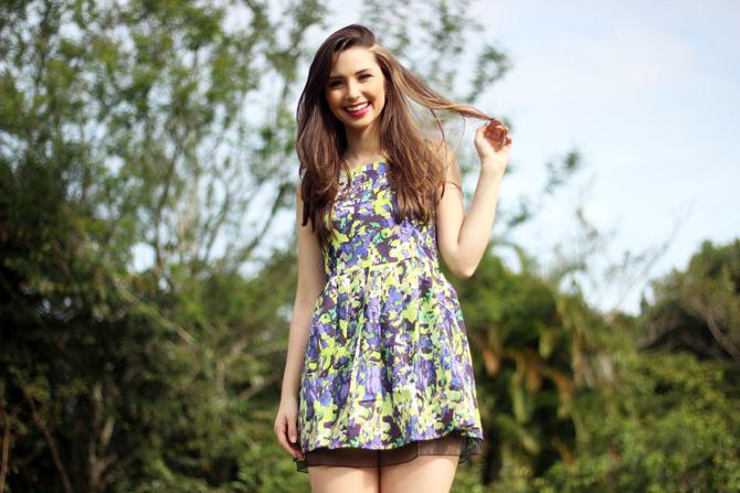 05 - vestido colorido azul e verde sempre glamour