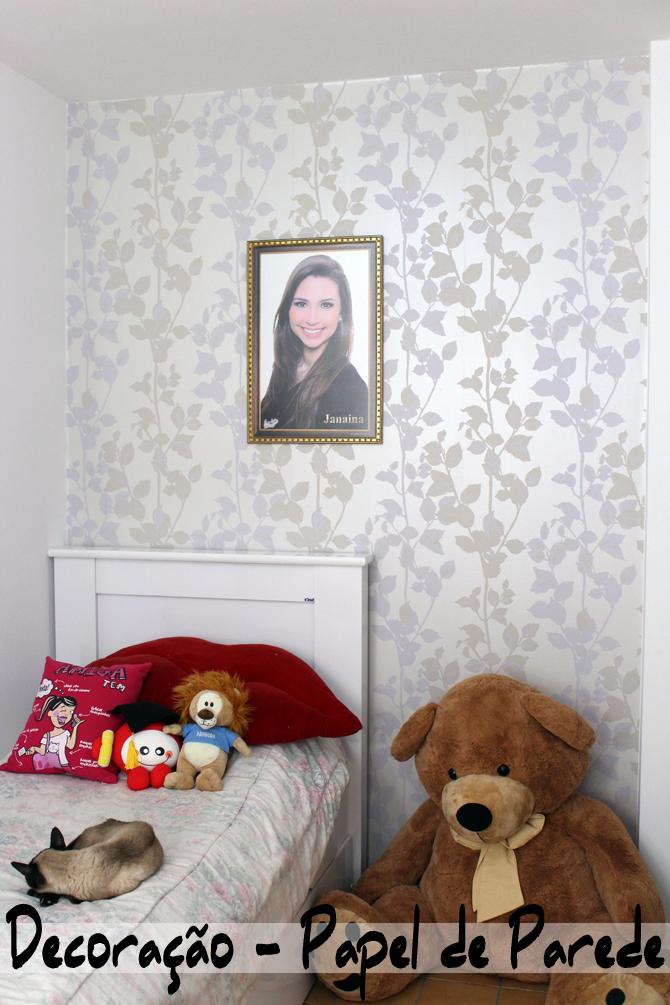 decoração papel de parede sempre glamour