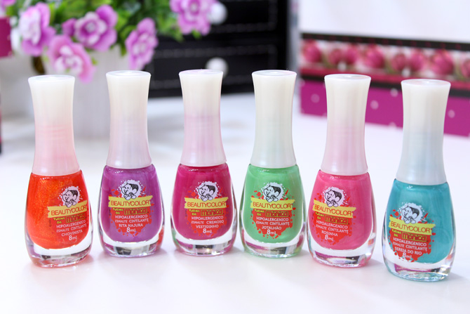 01 - esmaltes beauty color coleção turma da monica